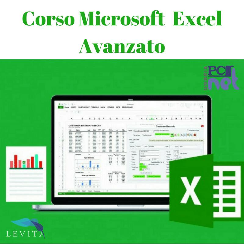Corso Microsoft Excel Avanzato Perugia Umbria