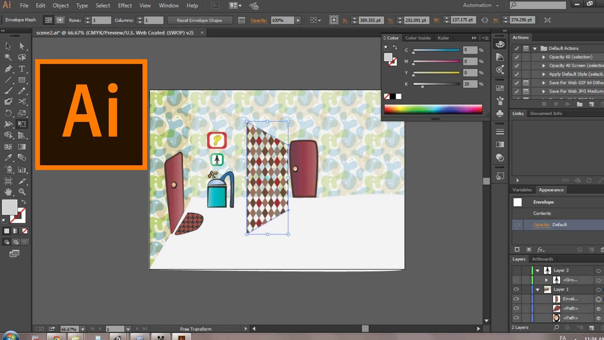 Corso Adobe Illustrator PCSNet Umbria Levita Perugia