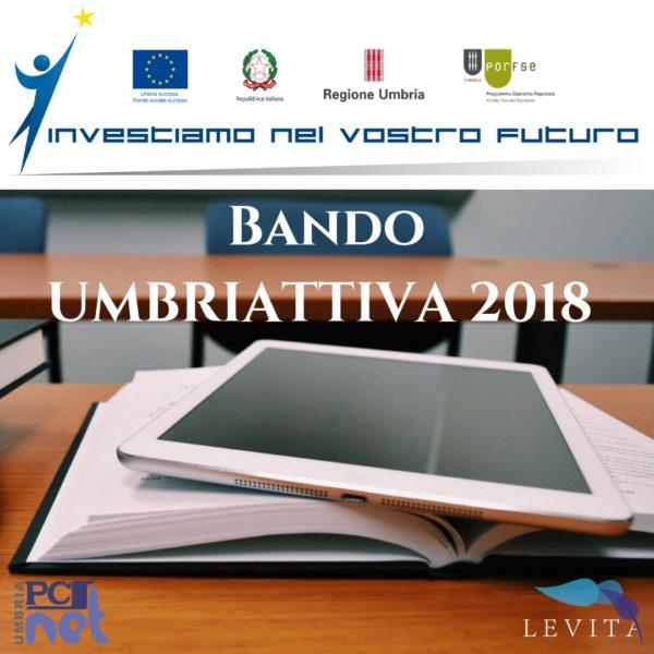 Bando UMBRIATTIVA 2018